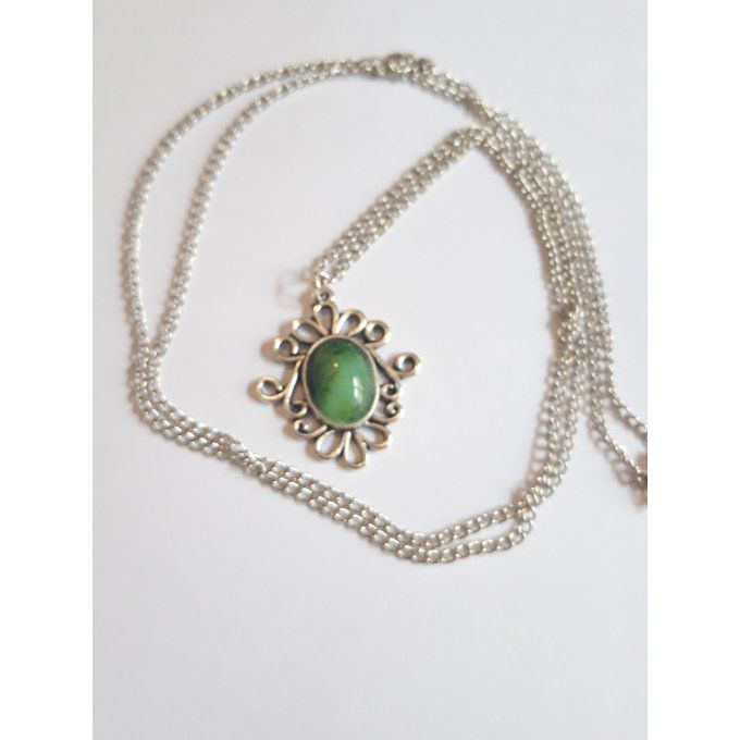 Collier fluorite arabesque collection printemps